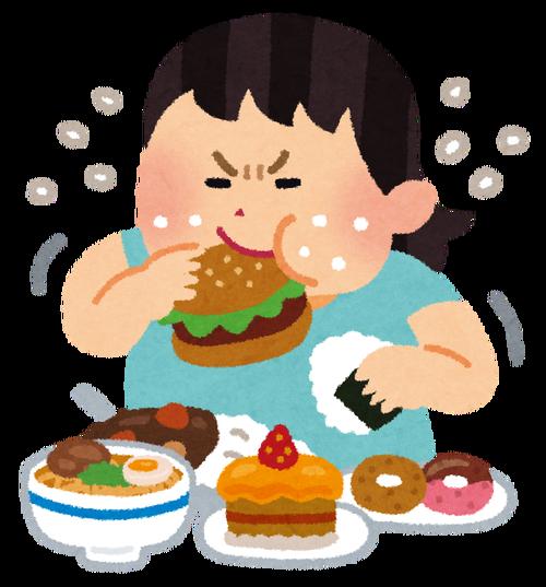 「モリモリ食べる女の子」VS「少食な女の子」