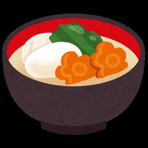 お雑煮に入れる味噌と具で住んでる地域が完璧にわかる説
