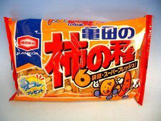 【亀田製菓】「柿の種」に「わさび味柿の種」が混入