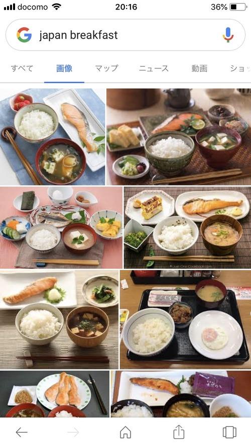 【画像】日本人の一般的な朝食が公開される