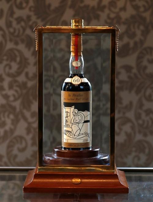 イギリスで60年物の希少なウイスキーが世界最高額の1.25億円で落札 「マッカラン・バレリオ・アダミ1926」