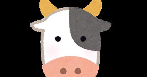 【画像】堤防に牛が出現