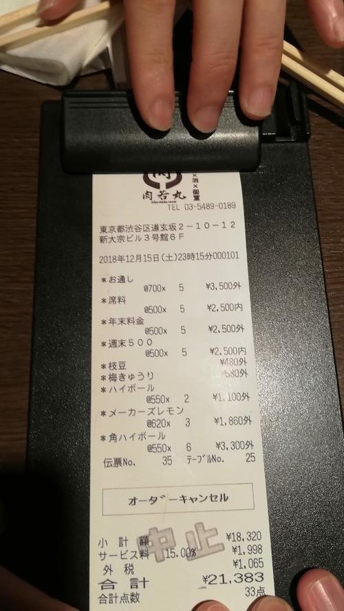 【悲報】居酒屋さん「お通し、席料、年末料金、週末料金で1人2200円です!」