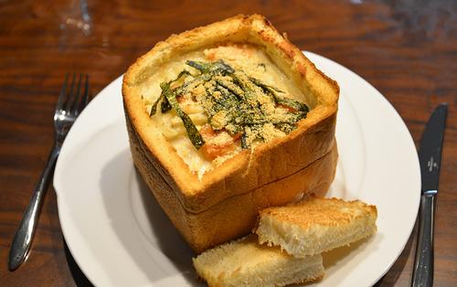 食パン1斤使ってパングラタン作ったった