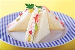 フルーツを使ったサンドイッチのレシピ
