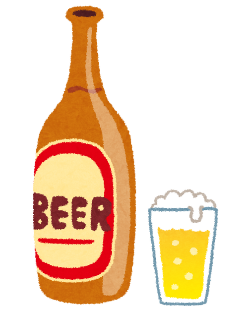 ビール注ぐときにラベルを上にしない新人って全くどうしようもないな