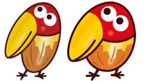 チョコボールの「キョロちゃん」、誕生46年目にして初のデザイン変更…森永製菓(画像あり)