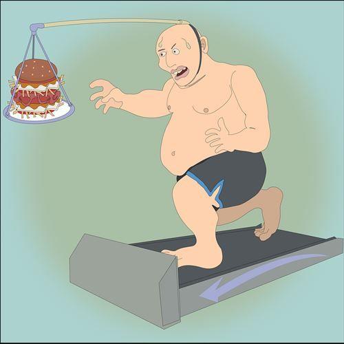 ワイデブ、痩せようとすると周りから笑われて心が折れる