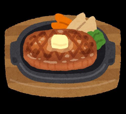 ワイ、昼にステーキを焼く