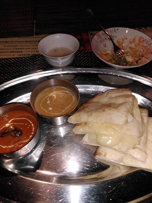 今からインド料理屋でカレー食う