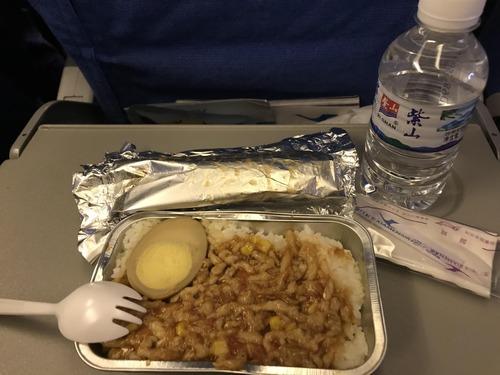 中国の機内食wwwwwwwwwwwwww
