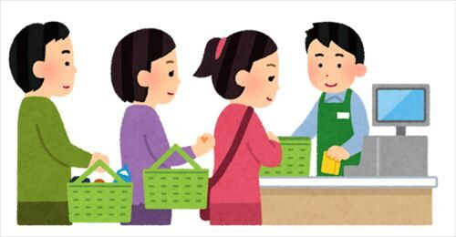 【悲報】スーパーのレジ打ちが立ってる必要、マジで一つもない