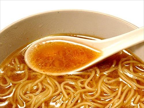 健康診断でラーメンのスープを飲んだら良くないと言われた