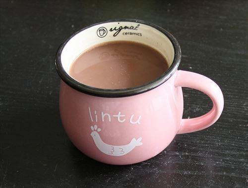 ミルクココアってお湯で作るとまずいよな