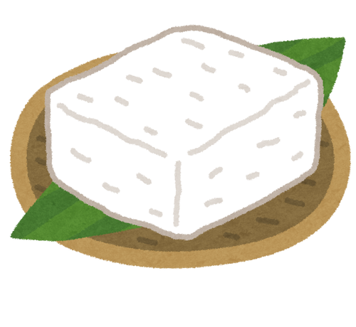 30円の豆腐と300円の豆腐の食べ比べ