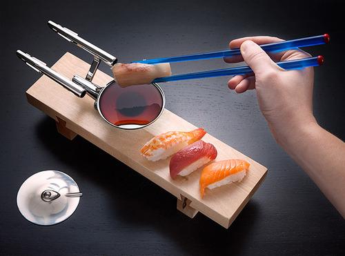 『スター・トレック』と寿司が公式にコラボ! エンタープライズ号が醤油皿にwwwwwwwwwww