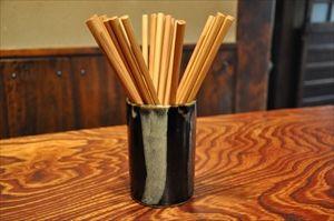 リサイクル箸を使ってる店で飯が食えない…