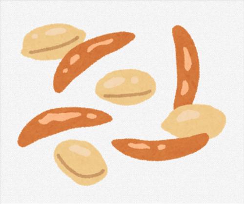 謎の勢力「柿ピーのピーナッツいらね」