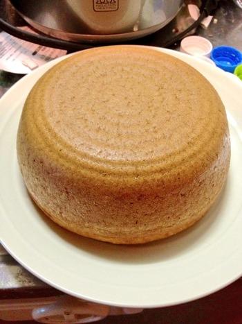 炊飯器でケーキ焼いたら簡単過ぎワロタwww