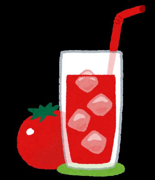 トマトジュースって一回ハマるとけっこうずっと飲んじゃうよな