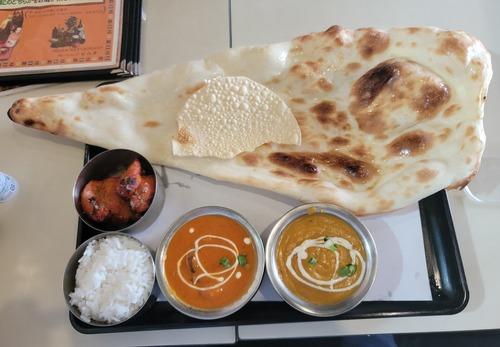 【画像】インド人のインドカレー屋、マジでお腹いっぱいになる🤗