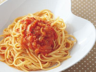 トマトソースでパスタ作ったんだが味が薄すぎる