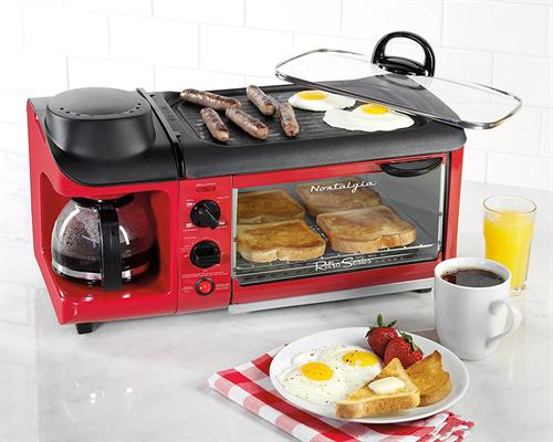 あぁ忙しい、こんな時にコーヒーメーカーとトースターとグリルが一緒になった調理器があればなぁ