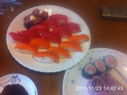 酢飯をいっぱい買ったので寿司を作ってみる