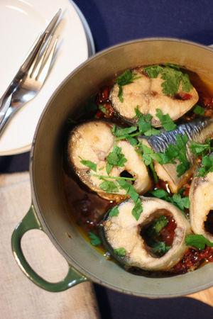 「鯖の簡単アクアパッツァ」「鯖のガーリックトースト」 鯖水煮缶とオリーブオイルの美味しい組み合わせ方