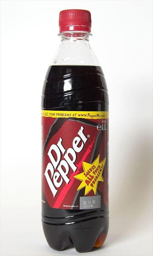 ドクターペッパーとかいう謎の飲料