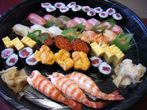 このお寿司1人で食べられるか?