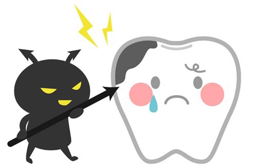職場に歯が虫歯でボロボロのおっさんがいるんだけど