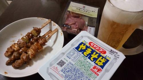日当6,000円の男の夕食がこれ