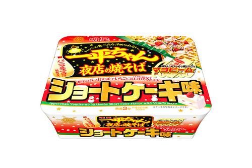 一平ちゃん 夜店の焼きそば ショートケーキ味 発売