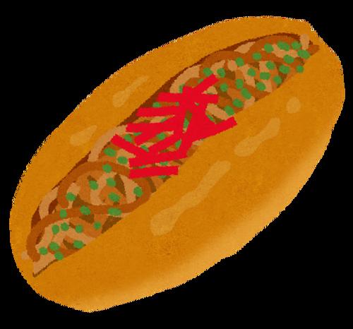 焼きそばパンの、紅しょうが入ってるのと無いの、どっち好き?