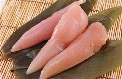ささみは肉って感じで使うより、白身魚だと思って使うとある程度マッチする。