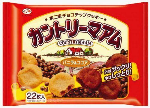 カントリーマアムの大袋を食べた時のバニラの余り率は異常。すべてココアにすべき