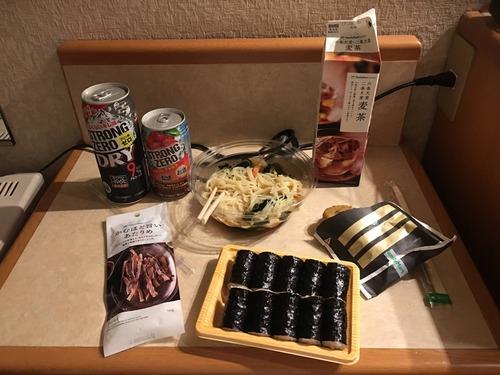 出張マン俺氏今日の晩飯www