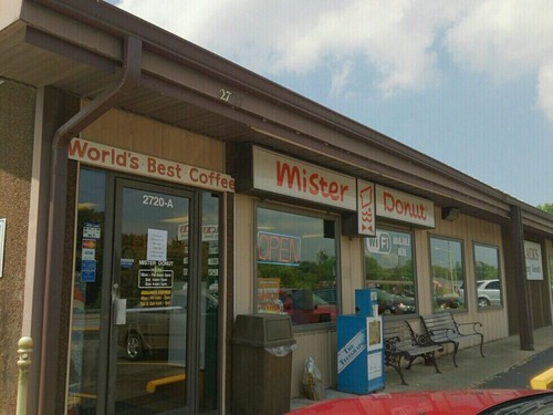 ミスタードーナツって創業のアメリカには1店舗しかないんだぜ