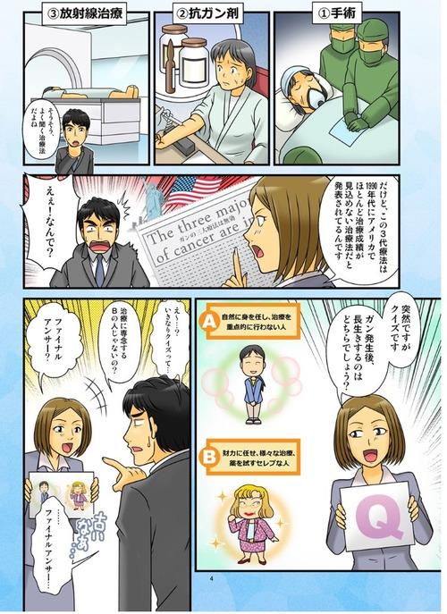 【小林麻央】「癌に効果ある」と謳った無届けクリニックの漫画がヤバイ 1回20万円の水素水風呂で治療