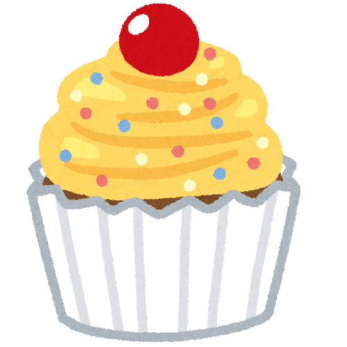 sweets_colorful_cupcake_yellow