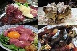 新宿にある朝起とかいうゲテモノ料理屋wwwwwwwwww