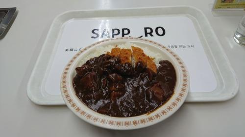 札幌に観光にきたった…