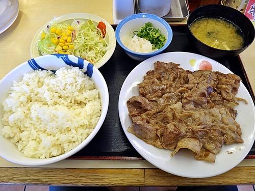松屋の牛焼肉定食(890円)wwwwwwwwwwwwwwwwwwww