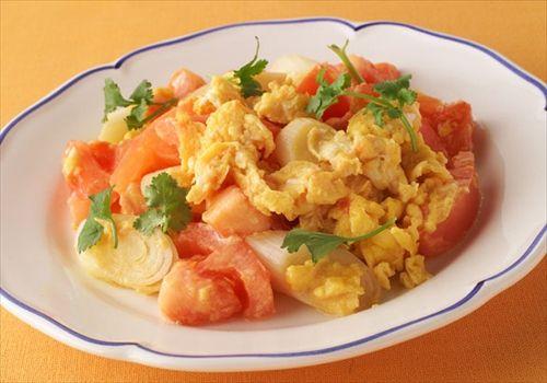トマトと卵の炒め物ってどうやって作るの?