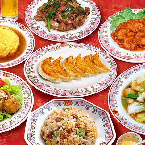 地元の王将セット¥880+税「拉麺+炒飯or天津飯+チューリップ+焼売+餃子+卵スープ」
