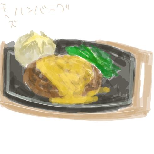なあみんな、食べ物の絵でも描かないか?