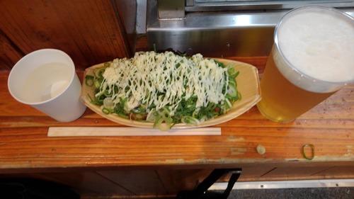 大阪旅行ワイ、昼飯で炭水化物ばかり食べてしまう😋でもうまし