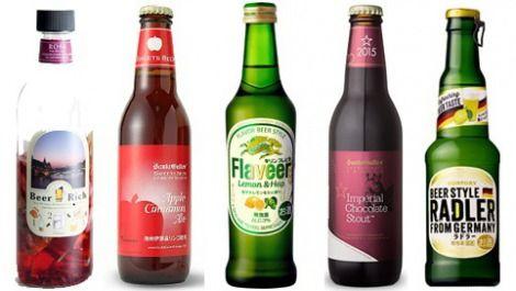若者のビール離れを阻止したい…果物などの風味を付けた甘い「フレーバービール」が人気