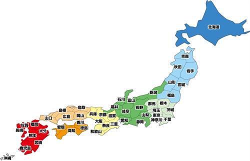 各都道府県の代表麺類・丼物を一品ずつ集めた飯屋